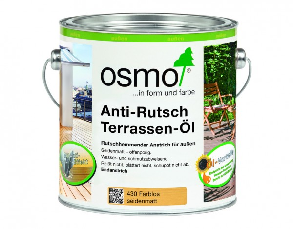 Anti-Rutsch Terrassenöl 430 Farblos