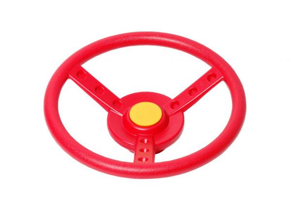 Spielgeräte Zubehör Lenkrad rot/gelb