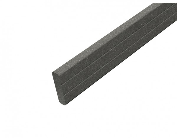 Glattkantbrett WPC basaltgrau