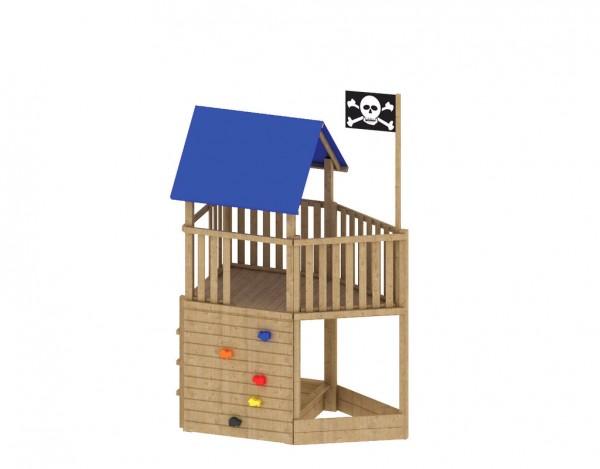 """Spielturm """"FIPS"""" Pirat mit Zubehör"""
