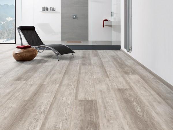 "Designboden Country Eiche Grau strukturiert ""Disano Classic Aqua"" Landhausdiele XL"