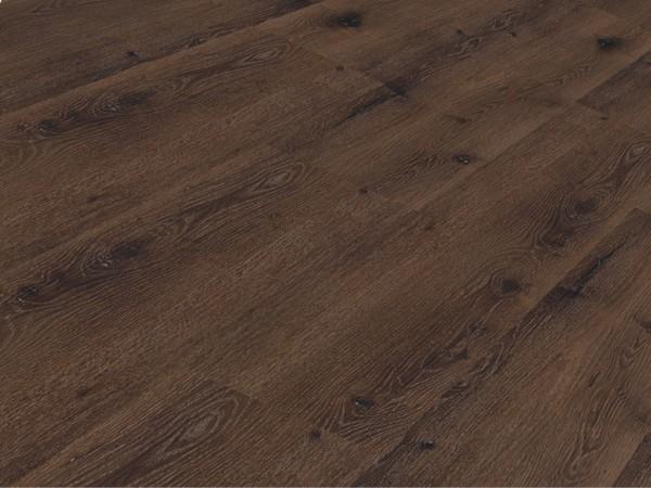 Vinylboden Räuchereiche mineral + Keramik Landhausdiele