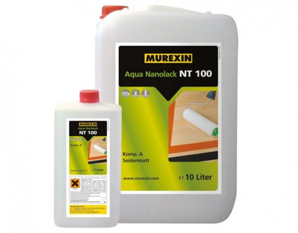 Nanolack NT 100 Aqua zwei-komponentige Parkett- und Kunstharzversiegelung