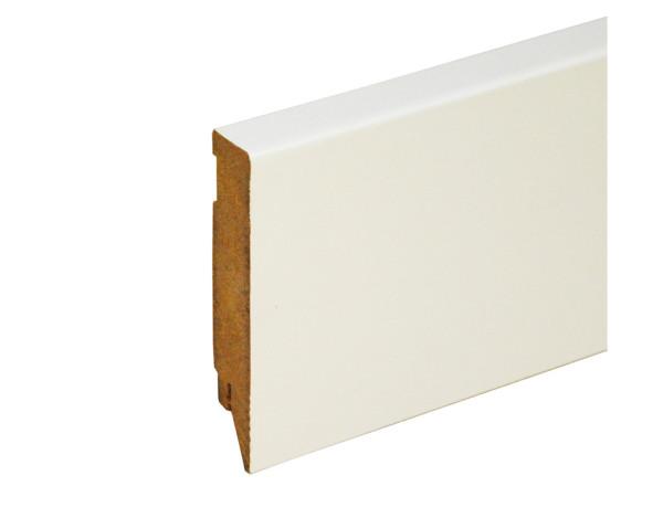 Vierkant Sockelleiste mit GF Weiß (streichfähig)