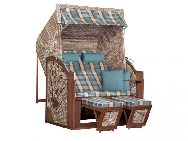 "Strandkorb ""Trendy Pure Classic XL SUN"" seashell Design 436"