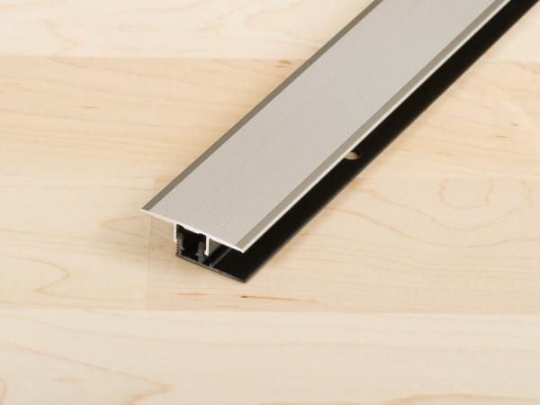 Übergangsprofil PROCOVERclip Universal Aluminium eloxiert Edelstahl