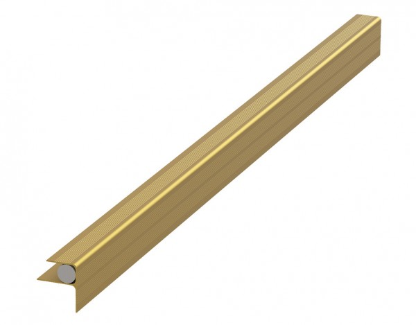 Hausanschlussprofil bronze