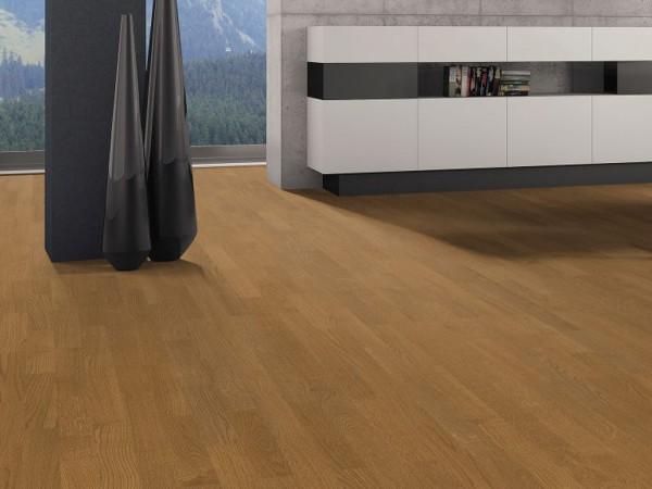 """Parkett Eiche Puro caramel Trend strukturiert """"Serie 4000"""" Stab Allegro"""