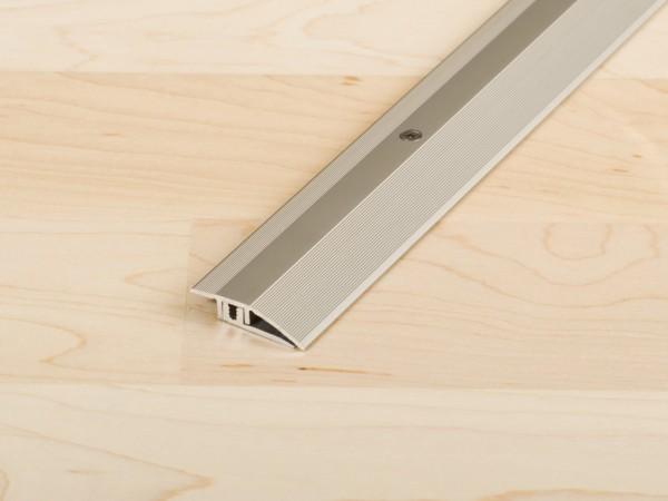 """Anpassungsprofil """"PROCOVER"""" Designfloor S Aluminium eloxiert Edelstahl"""
