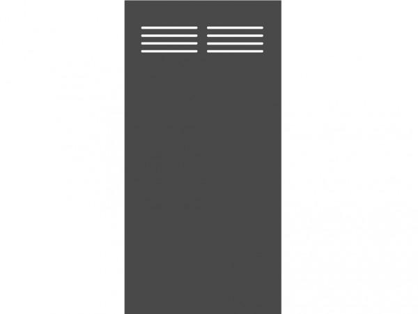 """Sichtschutzelement Slot-Design """"BOARD"""" schiefer"""