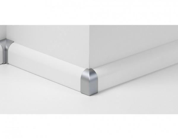 Außenecken für Sockelleiste Typ 2 SL 2 Alu-Optik