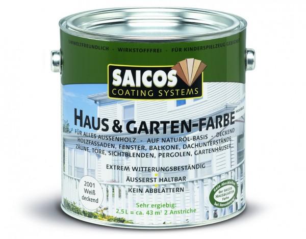 Haus- & Gartenfarbe Schwedenrot