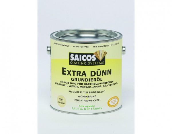 Grundieröl farblos 2,5 Liter extra dünn