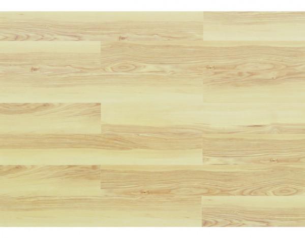 """Vinylboden """"wood Resist"""" Esche Nordic gefast Floating Landhausdiele"""