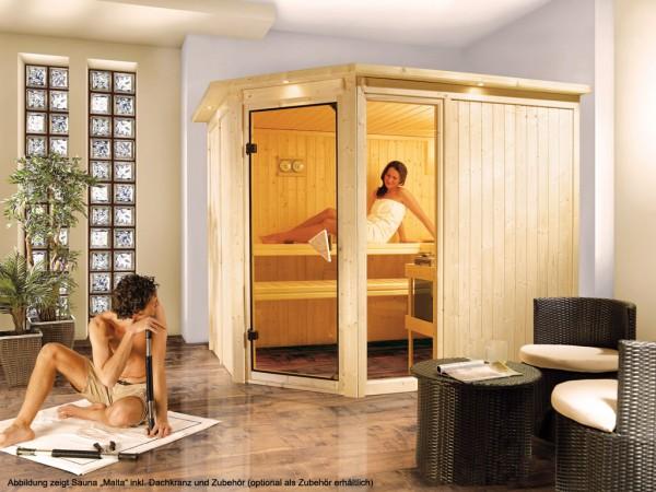 "Sauna Aktionssauna Systemsauna ""Malta"""