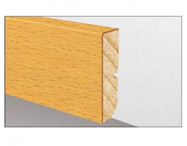 Sockelleiste Cube Eiche Lackiert Furniert 631 Um Echtholzfurnier