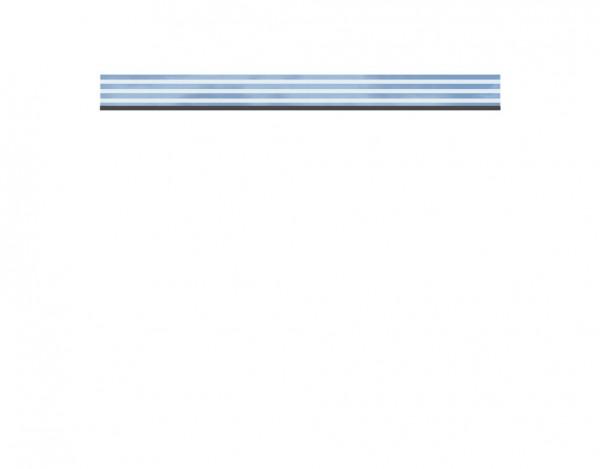 Einzelprofil SYSTEM Glas DELTA flach