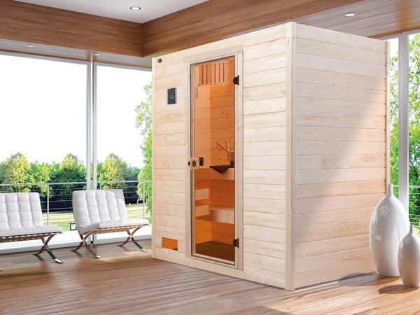 WE-Sauna Massiv. Valida 2 GT, ohne Ofen