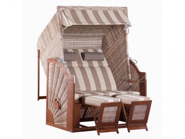 "Strandkorb ""Trendy Pure Classic XL SUN"" seashell Design 422"