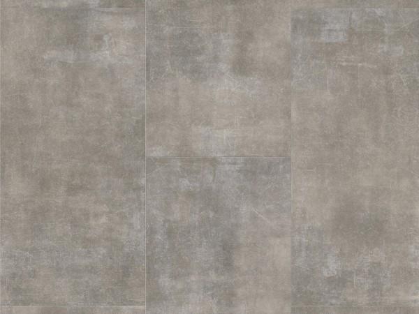 Vinylboden Basic 2.0 Fliese Mineral Grey Mineralstruktur