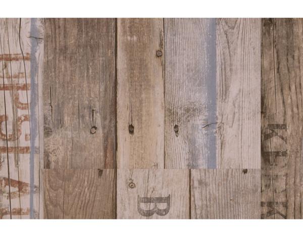 "Vinylboden Boxwood Vintage braun ""Classic 2030"" individuelle Dielenoptik Stabmix"
