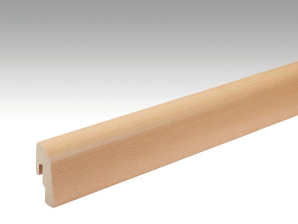 Sockelleiste Buche 019 lackiert Echtholzfurnier Profil 2 PK