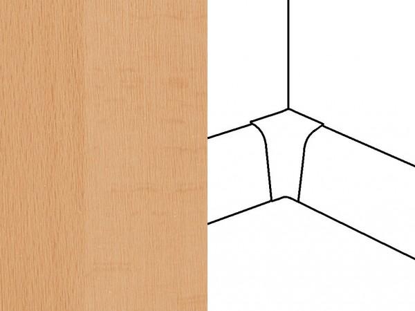 Innenecken für Sockelleiste Profil 2PK, Buche