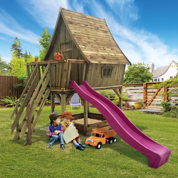 "Kinderspielhaus ""Dreamhouse"" 20 mm kesseldruckimprägniert"