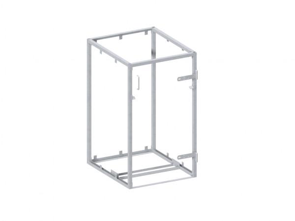 Mülltonnenbox Grundgestell Metall