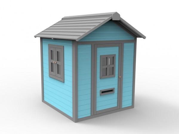 """Spielhaus """"Papagei"""" 10 mm blau"""