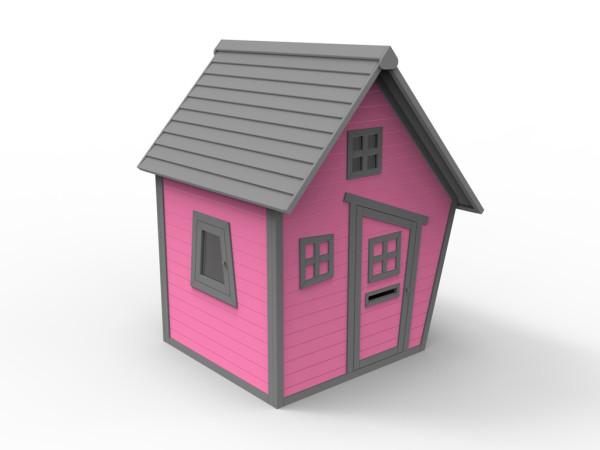 """Spielhaus """"Kakadu"""" 10 mm pink"""