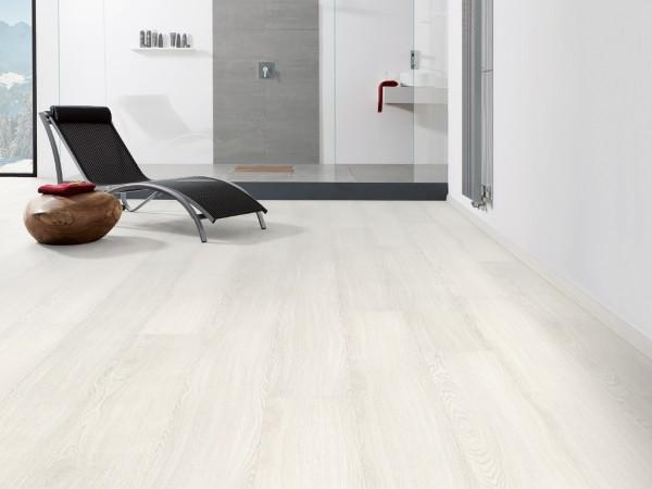 """Designboden Eiche Weiß strukturiert """"Disano Classic Aqua"""" Landhausdiele XL"""