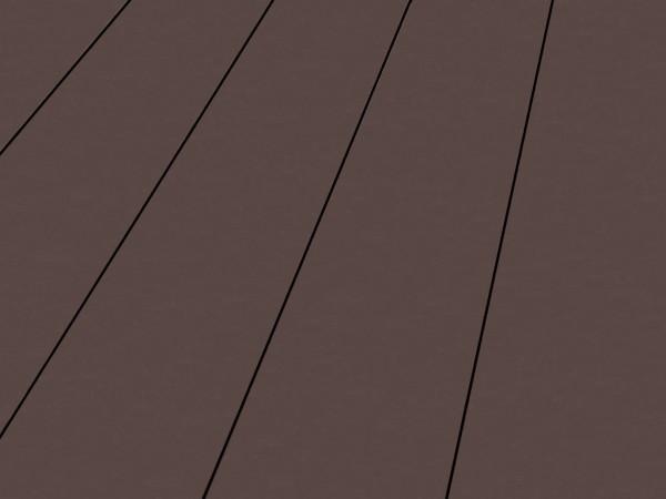 Terrassendiele BPC Madera terrabraun genutet/glatt