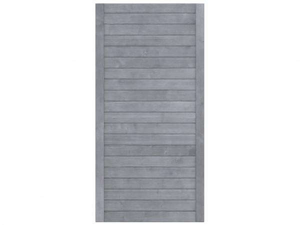 Sichtschutzzaun NEO Design Halbelement grau