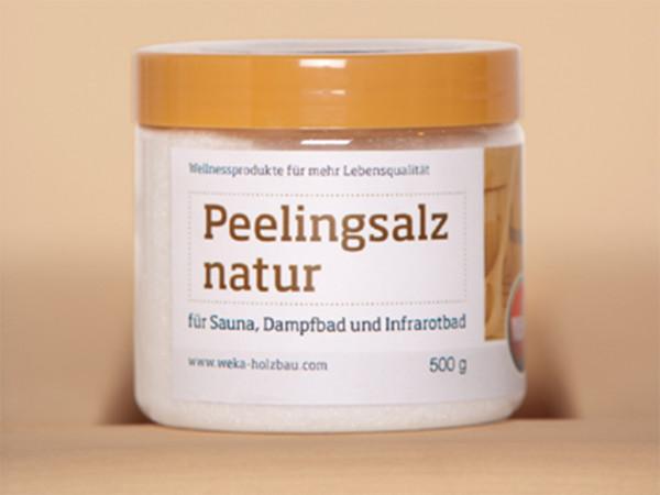 Peelingsalz natur, 500 g