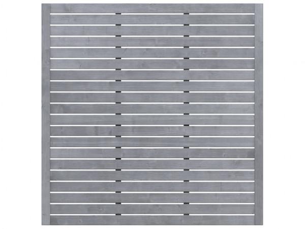 Sichtschutzzaun NEO Design Gitter grau
