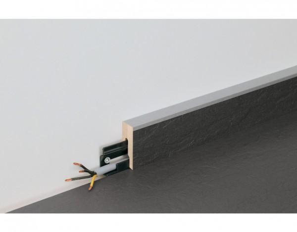 "Sockelleiste ""NB 400"" Hickory betongrau 6223 Nachbildung"