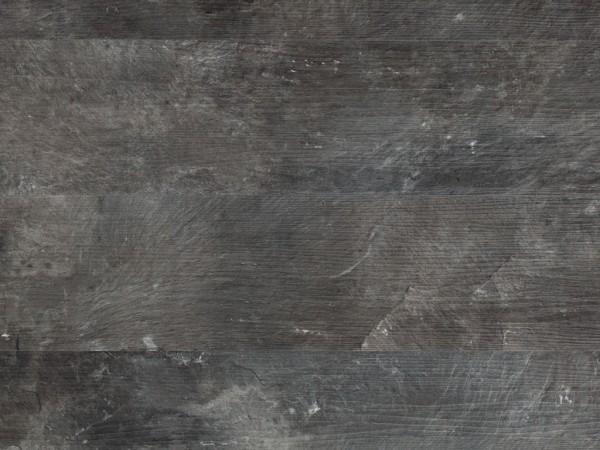 Vinylboden Anthrazit Steinoptik mit Holzstruktur Landhausdiele