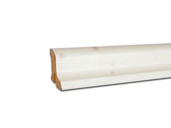 Sockelleiste Ahorn weiß 2213 Dekor Profil 1 K