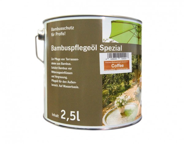 Bambus Öl Spezial 2,5 Liter
