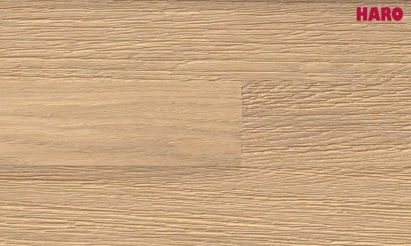 """Parkett Eiche Terra Puro weiß relief strukturiert """"Serie 4000"""" Schiffsboden"""