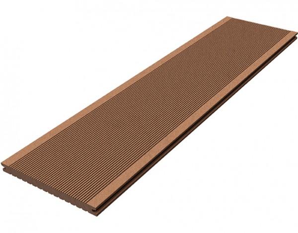 Terrassendiele WPC Barfußdiele CLASSIC (Jumbo) naturbraun