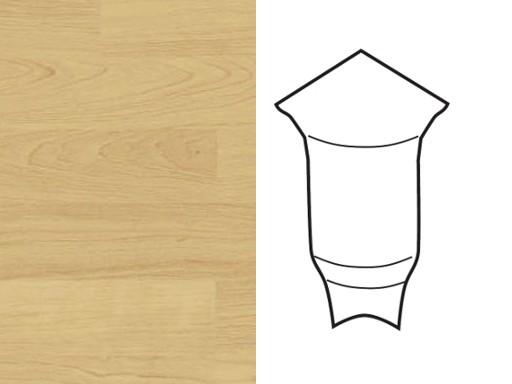 Innenecken für Sockelleiste Profil 1 1K 1 MK Ahorn