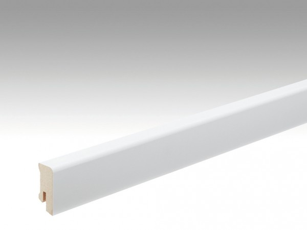 Steck-Sockelleiste Weiß streichfähig Profil 14 MK