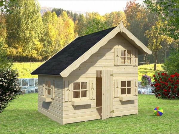 """Spielhaus """"Tom"""" naturbelassen"""